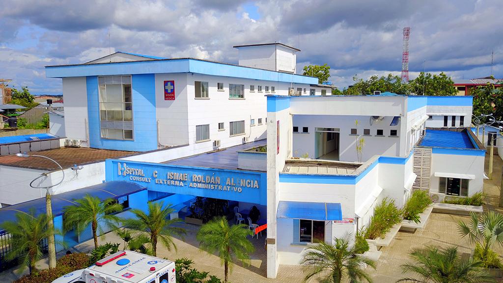 Sede principal barrio jard n los rosales hospital for Jardin los rosales